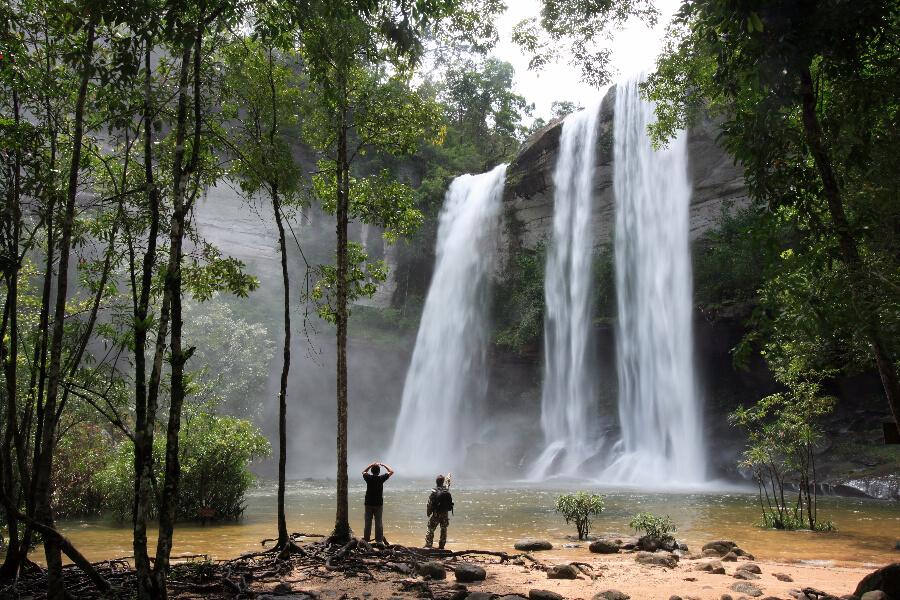 Blog - Thailand - watervallen bezoeken - Thailands mooiste nationale parken