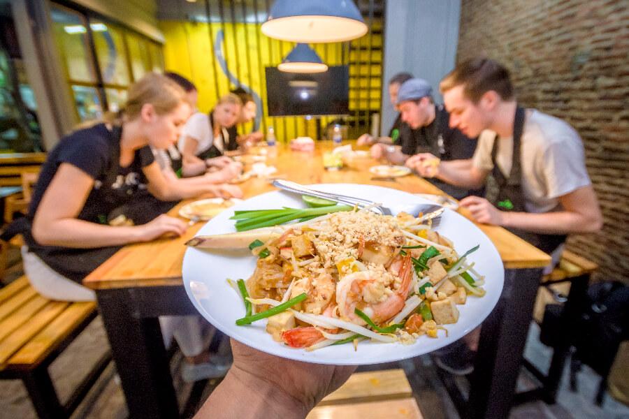 Thailand - Pad thai - Go Cooking - Kookcursus Bangkok