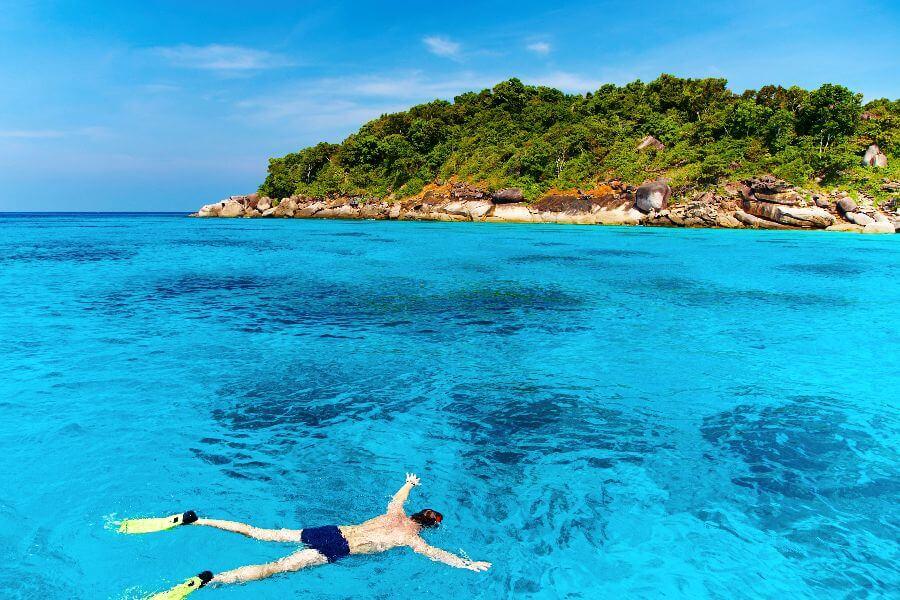 Thailand - Water sports water activiteiten mooiste duikplekken snorkelen - 5-Daagse eilandtrip Koh Phangan