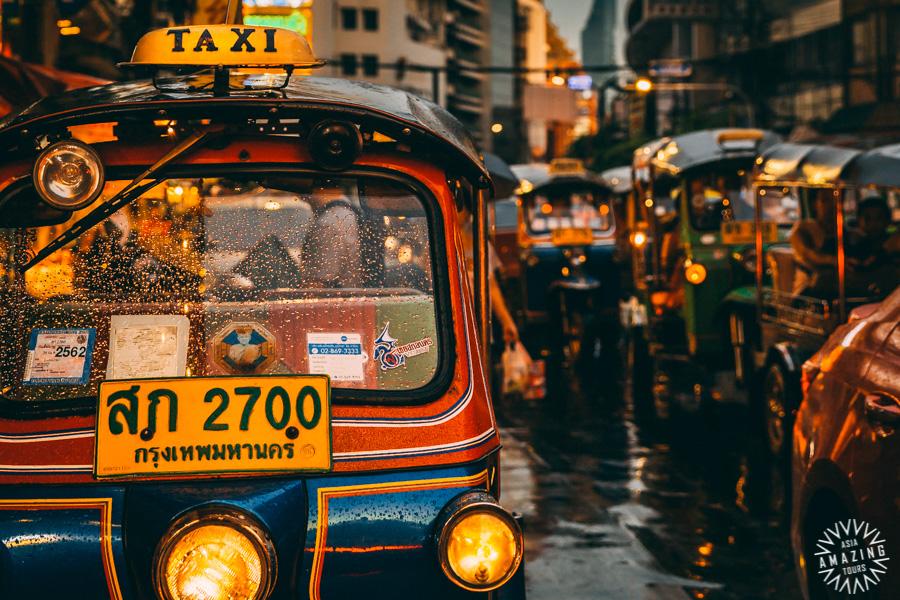 Thailand - Bangkok - Foodtour tuktuk
